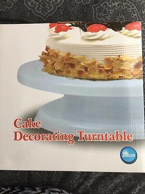 28cm Cake Decorating Turntable - Brand new in box