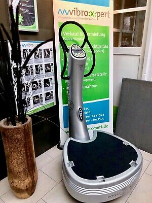 AKTION: Vibrationstrainer Power Plate 2012,netto 3.400€ silber nur bis 20.10.17