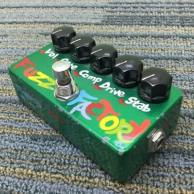 ZVEX 2004 Fuzz Factory Myrold Painted Rare Effects Pedal