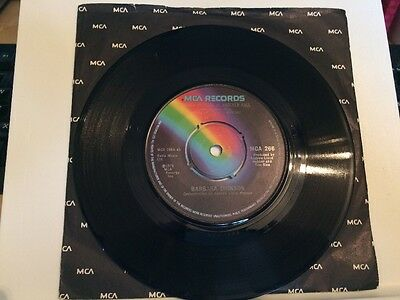 """Barbara Dickson - Another Suitcase In Another Hall 7"""" Vinyl Single Record"""