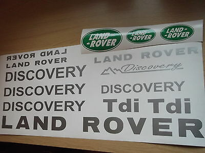 Land Rover DISCOVERY Sticker set Vinyl Decal  Discovery 90 110 TD5 TDi