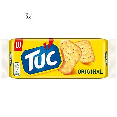 3x TUC Kekse Salzgebäck Cracker Classic 100g Packung 2400 gr biscuits cookies