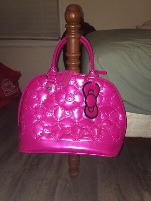 loungefly hot pink hello kitty bag