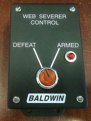 Defeat Box Baldwin Web Severer Control Typ: A 471-3016-11