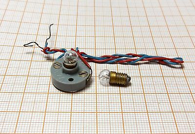 Part for the toy electric train - bulb 16V 0,2A - production DDR [12]