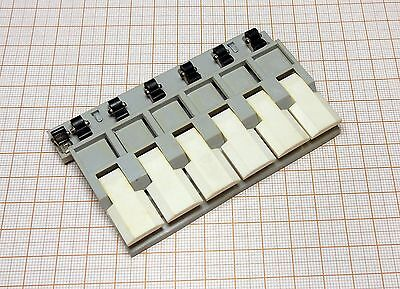 Part for the toy electric train - Control panel - production DDR [13]