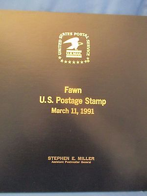 Usps Fawn Postmaster Gen First Day Issue