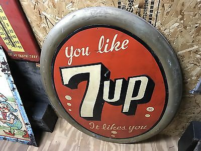 7-Up Metal Sign