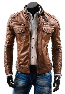 Lambskin Leather Patch Pocket Classic Jacket