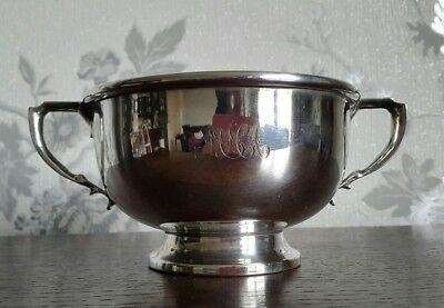 A Vintage Silver Plated Twin Handled Bowl