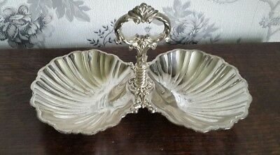 A Vintage Silver Plated Sectional Dish