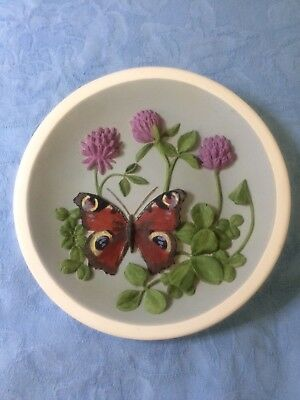 Watersmeet Studio : Hand Painted Wall Plaque Butterfly