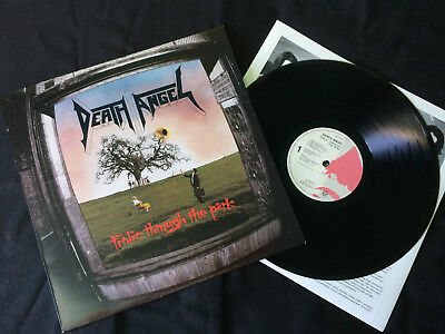 Death Angel - Frolic Through The Park  LP UK 1988 EX+/VG+   # Thrash