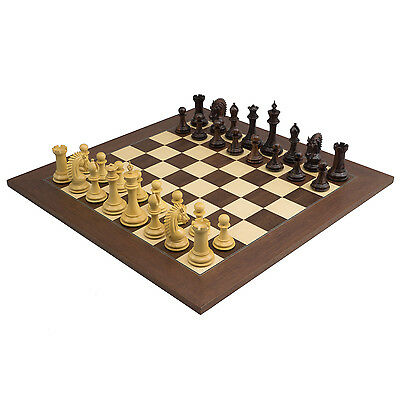 The Large Sheffield Knight Rosewood Luxury Chessmen with 4.25 inch King RCPB324