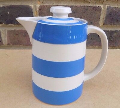 T. G. GREEN Blue & White Cornishware Coffee Pot