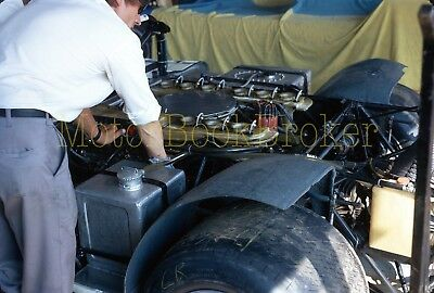 Original 1971 35mm slide. Can Am. Close-up of Milt Minter's Porsche 917 PA #028