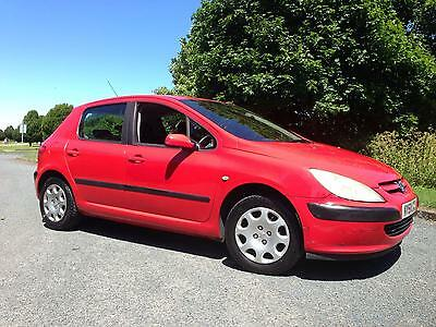 Peugeot 307 1.4 2001 (51) Good First Time Car Low Insurance Cheap On Petrol
