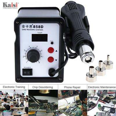 Kaisi858D 220V 700W SMD Hot-Air Desoldering Soldering SMD Rework Station LED