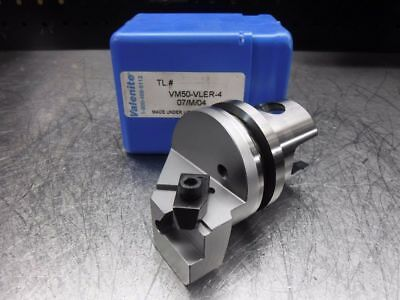 Valenite VM / KM 50 Indexable Grooving/Threading Head VM50-VLER-4 (LOC1274A)