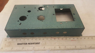 Ham Radio Construction Small Steel Chassis For Valve / Tube Use Qrp Power Supply