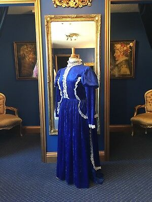 Stunning Edwardian Style Theatrical Dress, Fantastic Detailing & Fabric,Top Item