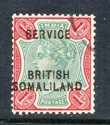 British Somaliland - 1903 Sg O9f Service Official - Fine Used - Cat £18