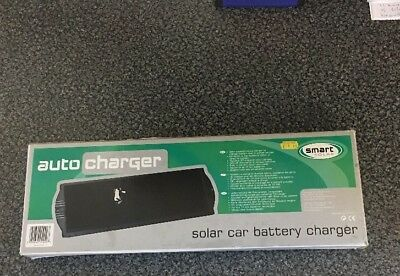 Smart Solar Car Battery Charger