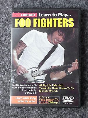 Lick Library - Learn To Play Foo Fighters - DVD Guitar Workshop note by note