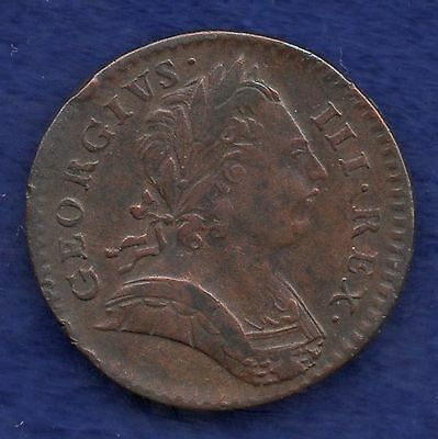 Great Britain, George III, 1773 Farthing (Ref. c6192)