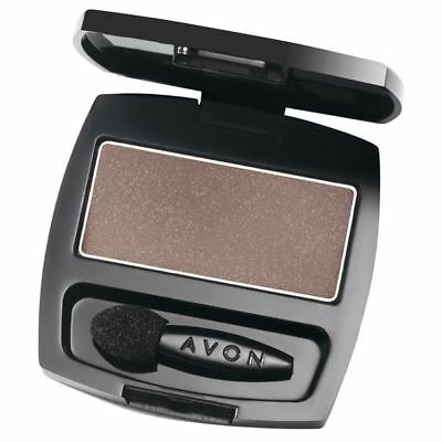 Avon True Colour Eyeshadow Single - Blackest Black
