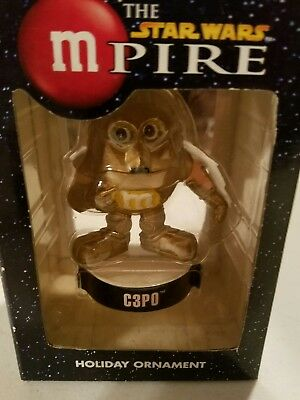 M&M Star Wars C3PO Holiday Ornament