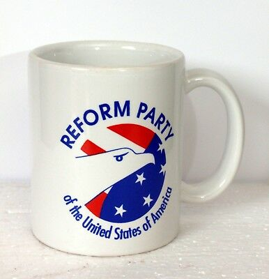 Reform Party of the United States of America Coffee Cup / Mug c. 1997
