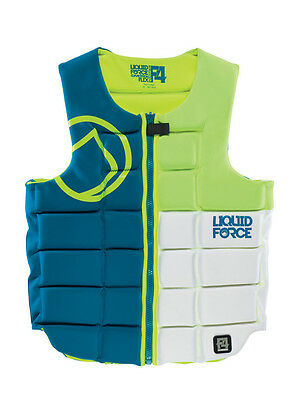 Wakeboard Vest Liquid Force Flex Comp Green White