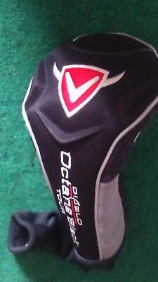 callaway diablo tour black octain driver golf club head cover