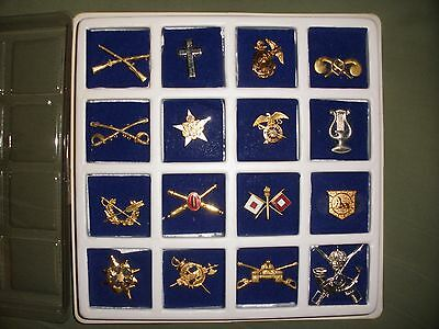 Collection collar pins