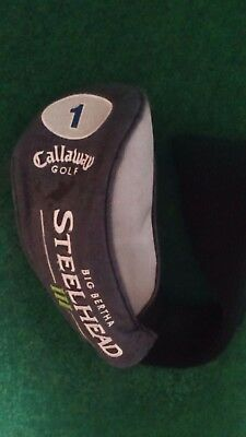 callaway big bertha steelhead III driver golf club head cover