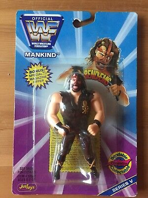WWF Mankind Bendems Brand New In Box Ultra Rare