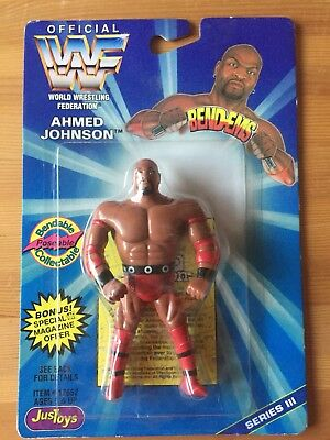 WWF Ahmed Johnson Bendems Brand New In Box Ultra Rare