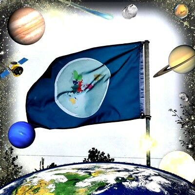 Flat Earth Flag Wake up others to FE. The truth can't be stopped!