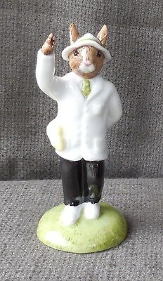 RARE Bunnykins CRICKET UMPIRE By ROYAL DOULTON With Certificate Ltd Edt DB360