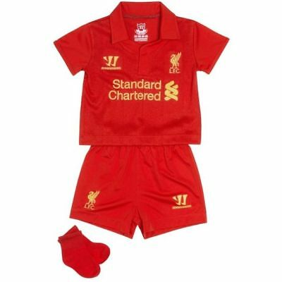 WARRIOR Liverpool LFC Infant Kit - Ages 2/3 - NEW