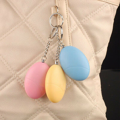 120dB Safe Sound Personal Alarm Self-Defense Keychain Emergency Attack F2