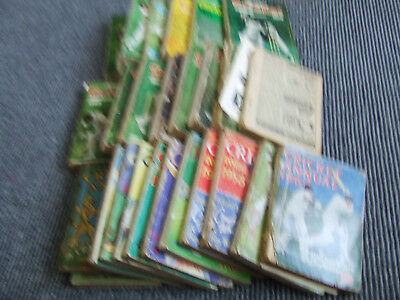 Collection Of News Chronicle & Playfair Cricket Annuals 1950-1976 X 26 Annuals