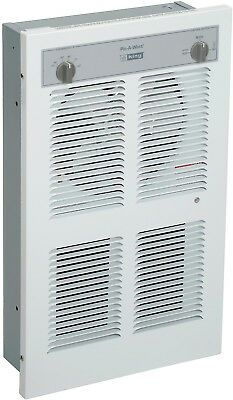 King Pic-A-Watt® Wall Heater With Built-In SP Thermostat LPW2445T, 4500W Max,