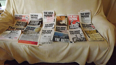 """The Daily Telegraph """"The War Papers"""" Reprints 1-26"""
