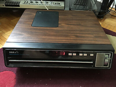 RCA CED VideoDisc Player SFT-100 (with discs!)