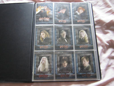 Harry Potter & The Half - Blood Prince Artbox Trading Cards Set Of 90 In Album