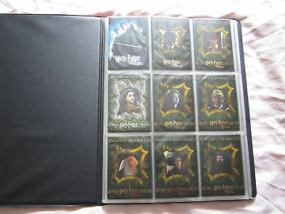 Harry Potter & The Chamber Of Secrets Artbox Trading Cards Set Of 90 In Album