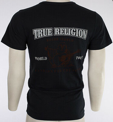 $44 TRUE RELIGION Buddha T-SHIRT Navy Blue KIDS BOYS YOUTH SIZE MEDIUM M NWT