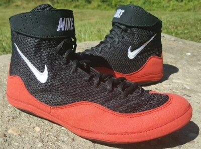 Brand New Red Nike Inflict 3 Wrestling Shoes Size 9.5